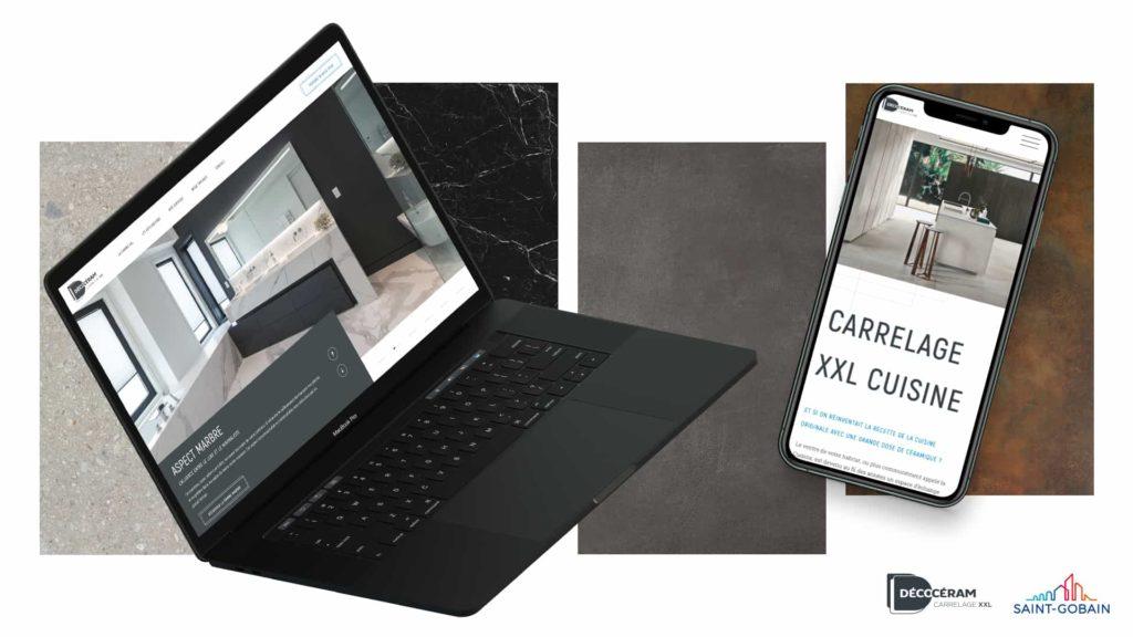 image site reponsive pour l'article SEO et UX de digital Lead